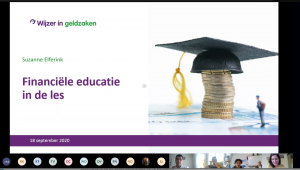 Online presentatie van Programma Manager Suzanne Elferink Wijzer in Geldzaken